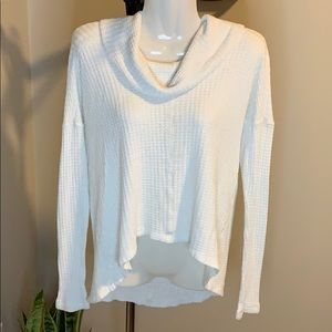 Lucky Brand White Sweater - Size Small